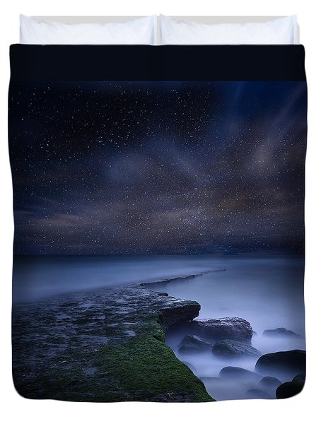 Path To Infinity Duvet Cover by Jorge Maia
