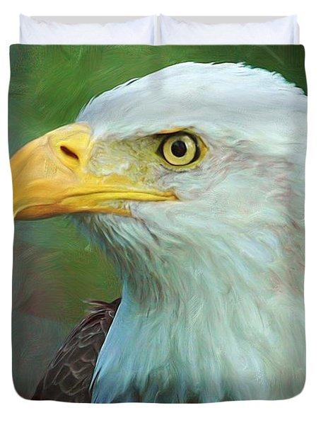 Patriot Duvet Cover by Heidi Smith