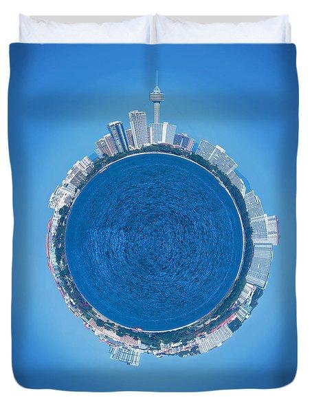 Pattaya World Duvet Cover by Atiketta Sangasaeng