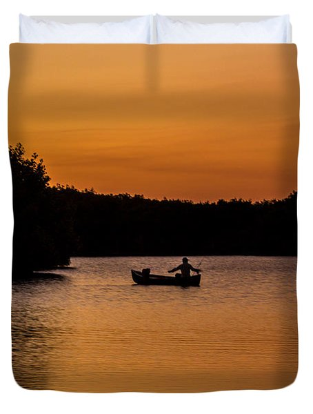 Peaceful Solitude Duvet Cover by Rene Triay Photography