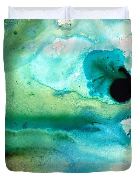 Peaceful Understanding Duvet Cover by Sharon Cummings