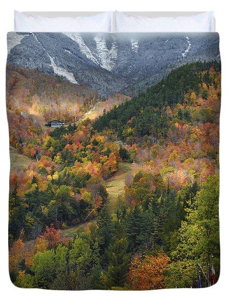 Peaked Duvet Cover by Mark Papke