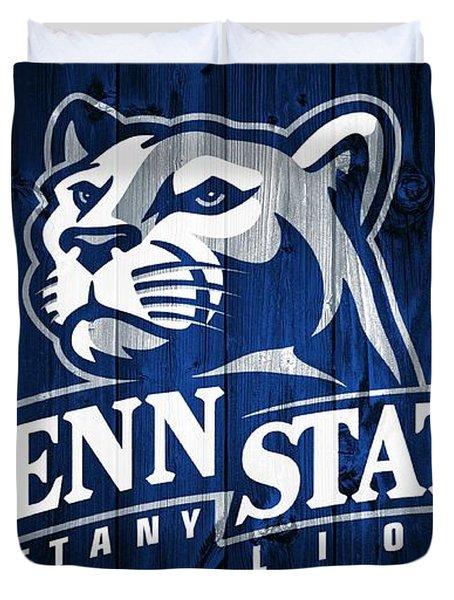 Penn State Barn Door Duvet Cover by Dan Sproul