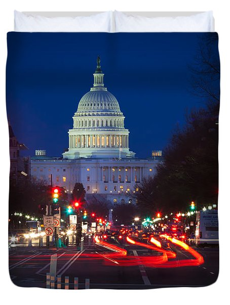 Pennsylvania Avenue Duvet Cover by Inge Johnsson