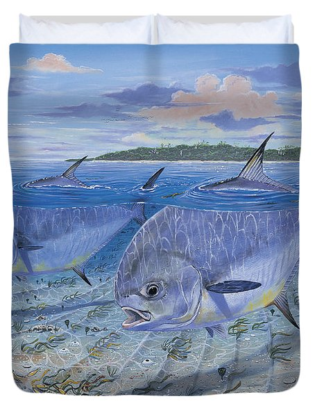 Permit In0016 Duvet Cover by Carey Chen