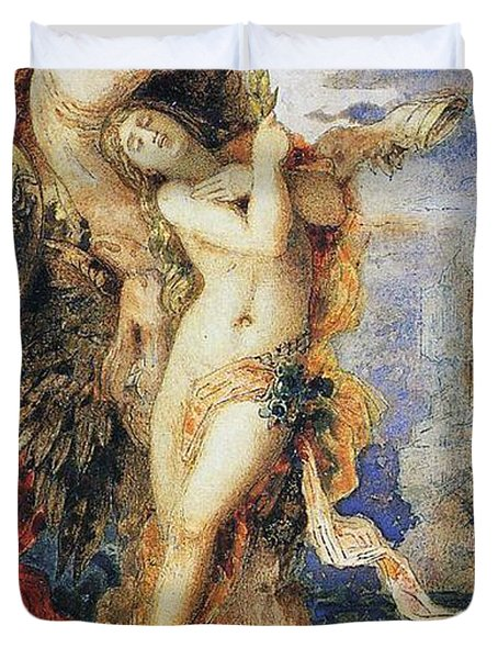Perseus And Andromeda Duvet Cover by Gustave Moreau