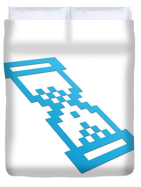 Perspective Hour Glass Duvet Cover by Aged Pixel