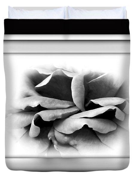 Petals And Shadows 2 Duvet Cover by Kaye Menner