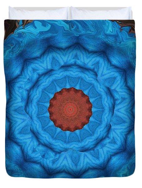 Petunias Inside Out Duvet Cover by Aliceann Carlton