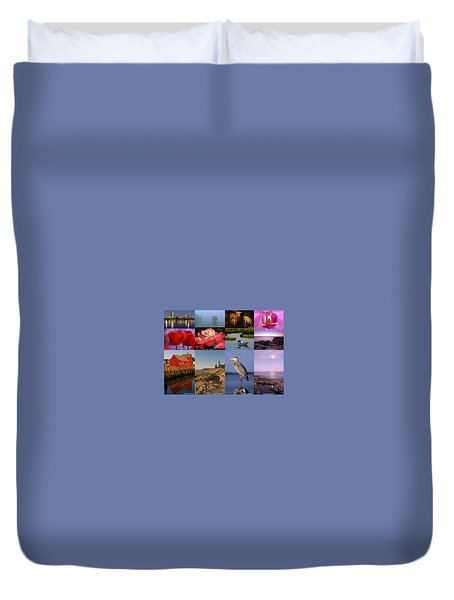 Photographing Light Duvet Cover by Juergen Roth