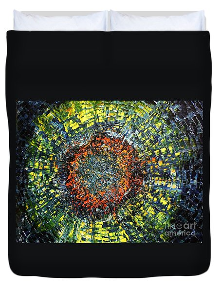 Physiological supernova Duvet Cover by Michael Kulick