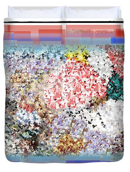 Pieces of April Duvet Cover by Bill Cannon