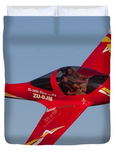 Pilots Duvet Cover by Paul Job