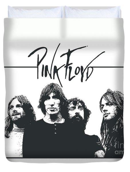 Pink Floyd No.05 Duvet Cover by Caio Caldas