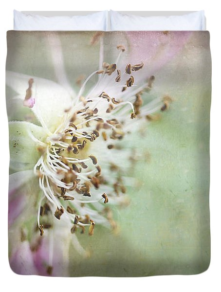 Pink Impression Duvet Cover by Teresa Zieba