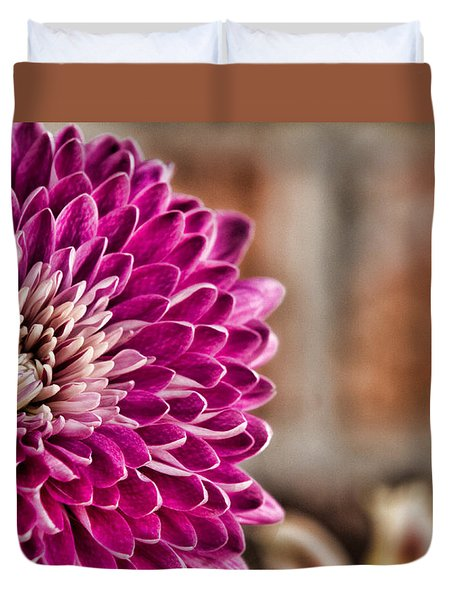 Pink Mum Duvet Cover by Lana Trussell