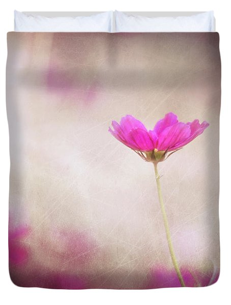 Pink Nouveau Duvet Cover by Amy Tyler
