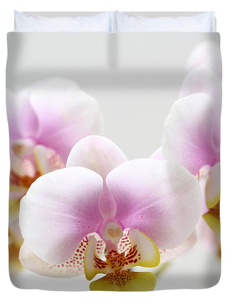 Pink Sensation Duvet Cover by Juergen Roth