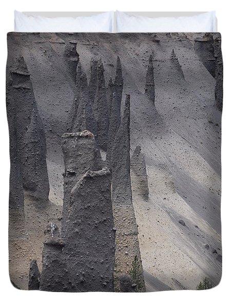 Pinnacles Valley Duvet Cover by Sharon Elliott