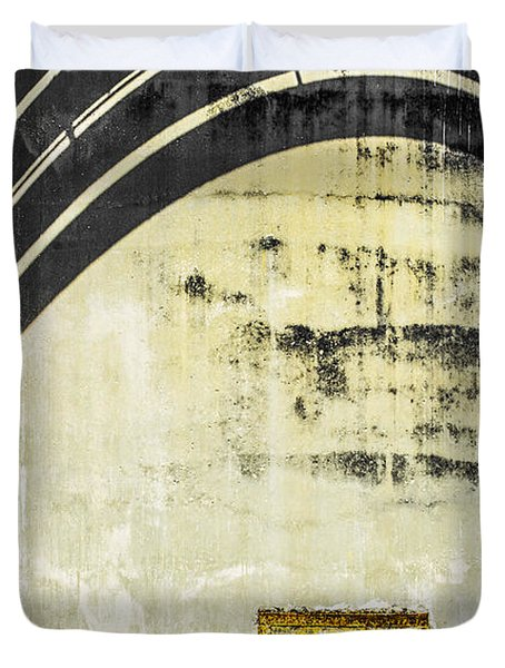 Piped Abstract 4 Duvet Cover by Carolyn Marshall