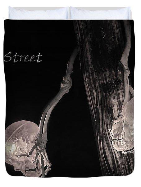 Pirate Mast Lights Duvet Cover by LeeAnn McLaneGoetz McLaneGoetzStudioLLCcom