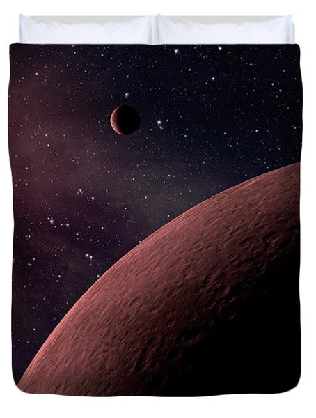 Planetary System Koi-961 Duvet Cover by Movie Poster Prints