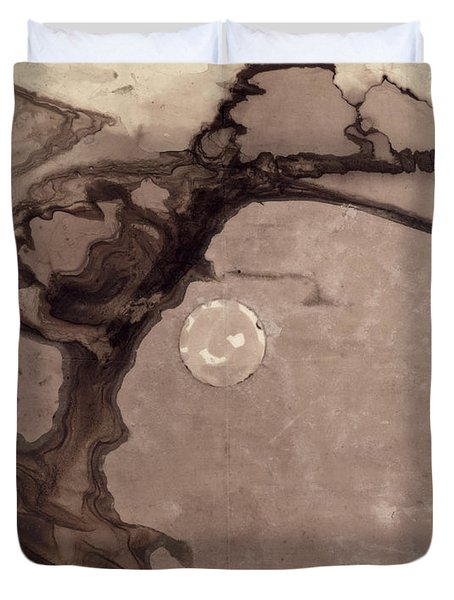 Planets Duvet Cover by Victor Hugo