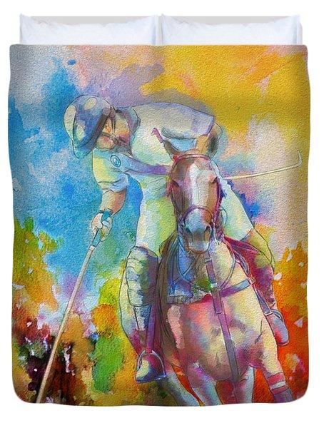 Polo Art Duvet Cover by Catf