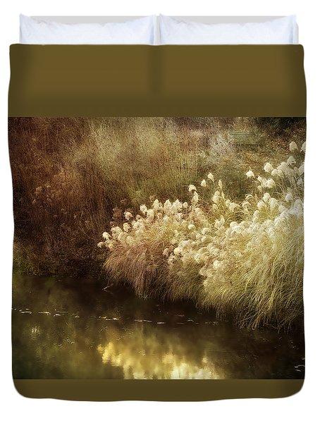 Pond's Edge Duvet Cover by Julie Palencia