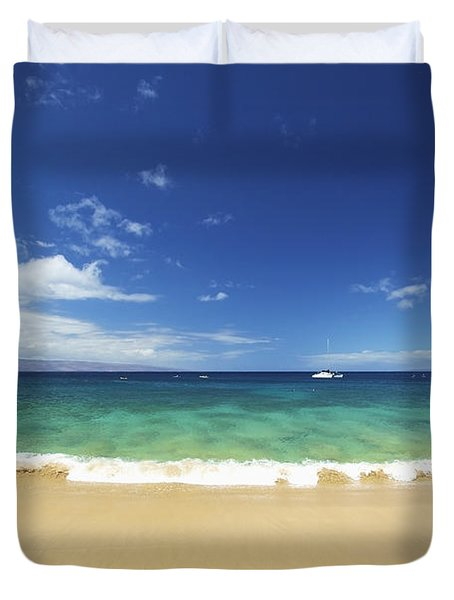 Poolenalena Beach Park Duvet Cover by Kicka Witte
