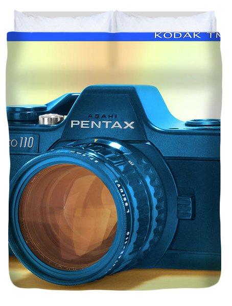 Pop Art 110 Pentax Duvet Cover by Mike McGlothlen