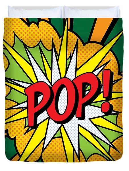 Pop Art 4 Duvet Cover by Gary Grayson