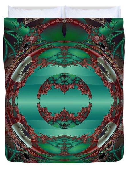 Portal / Escape Hatch  Duvet Cover by Elizabeth McTaggart