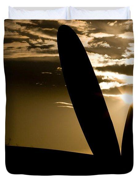 Porter Sunset Duvet Cover by Paul Job