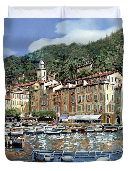 Portofino Duvet Cover by Guido Borelli