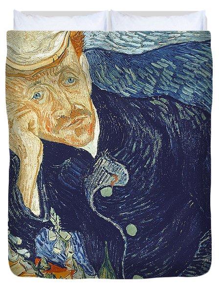 Portrait Of Dr Gachet Duvet Cover by Vincent Van Gogh
