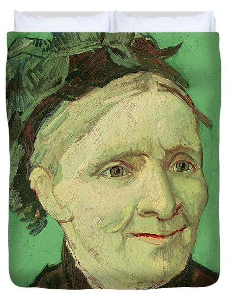Portrait Of The Artist's Mother Duvet Cover by Vincent van Gogh