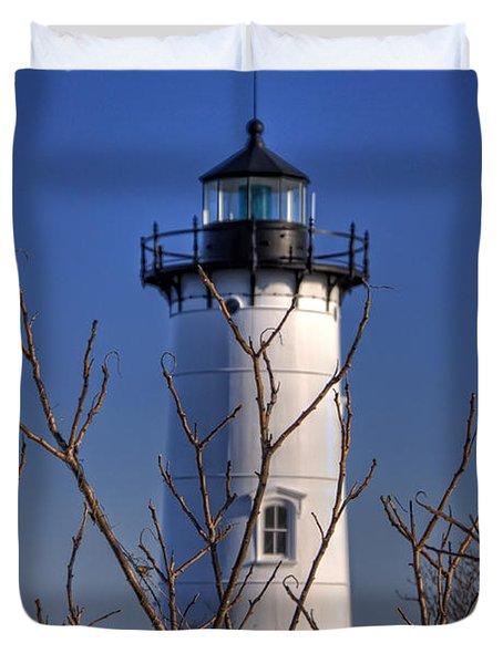 Portsmouth Harbor Light 3 Duvet Cover by Joann Vitali