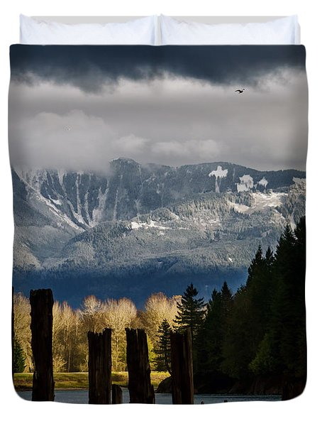 Potential - Landscape Photography Duvet Cover by Jordan Blackstone