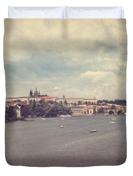 Prague Days II Duvet Cover by Taylan Soyturk