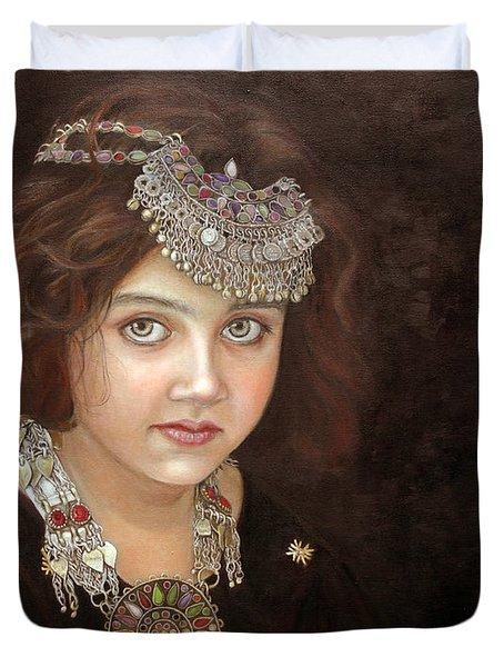 Princess of the East Duvet Cover by Enzie Shahmiri