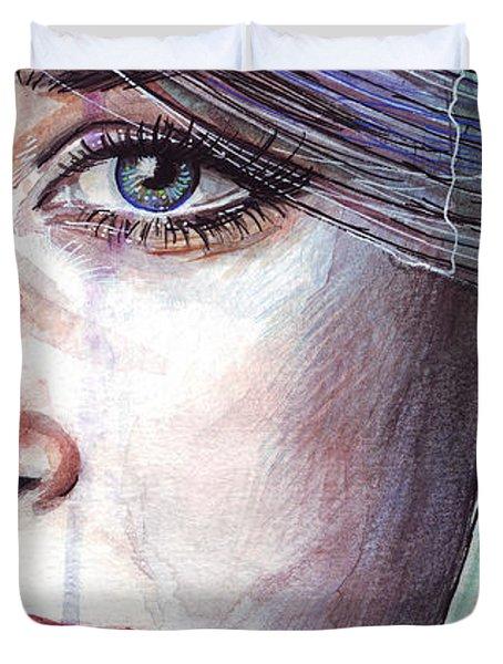 Prismatic Visions Duvet Cover by Olga Shvartsur