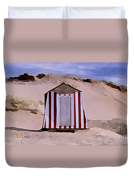 Privacy Duvet Cover by John  Malone