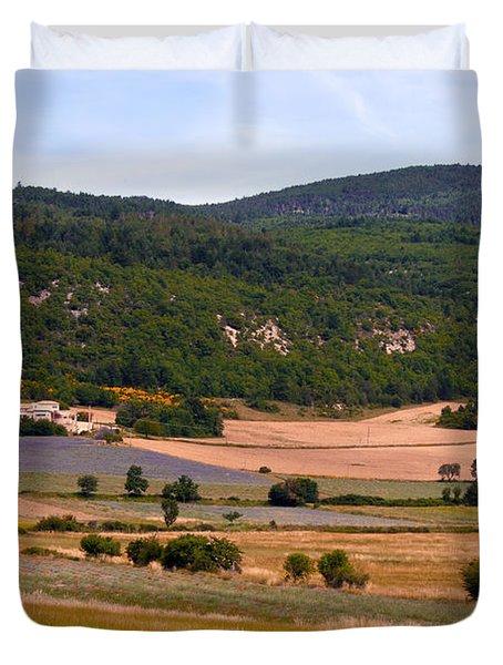 Provence Landscape Duvet Cover by Bob Phillips