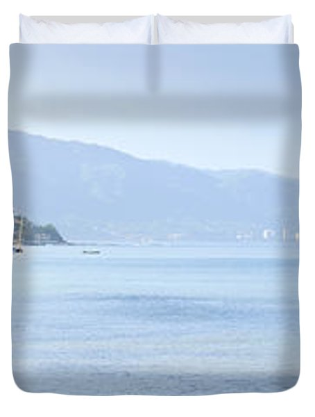 Puerto Vallarta beach in Mexico Duvet Cover by Elena Elisseeva