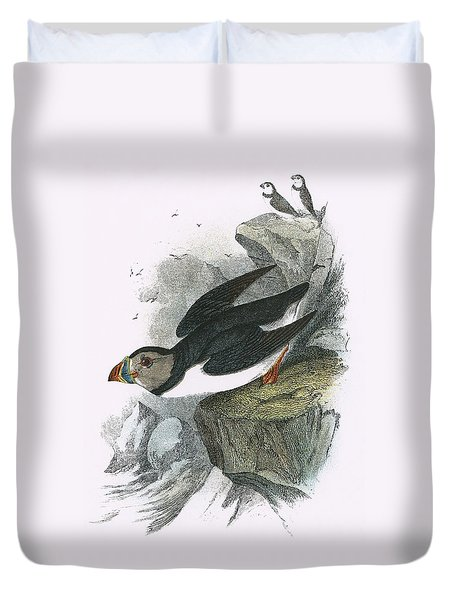 Puffin Duvet Cover by English School