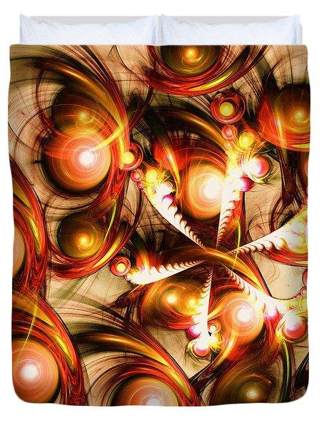 Pure Energy Duvet Cover by Anastasiya Malakhova