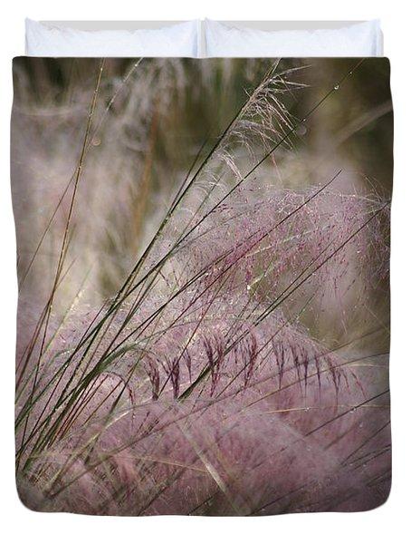 Purple In Bloom Duvet Cover by Patricia Twardzik