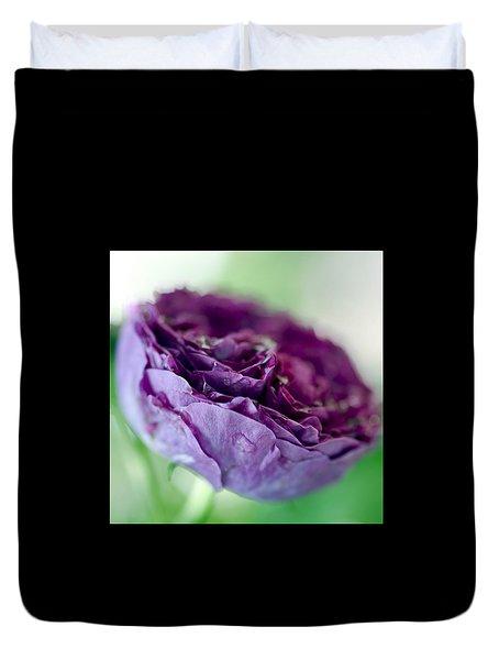 Purple Rose Duvet Cover by Frank Tschakert
