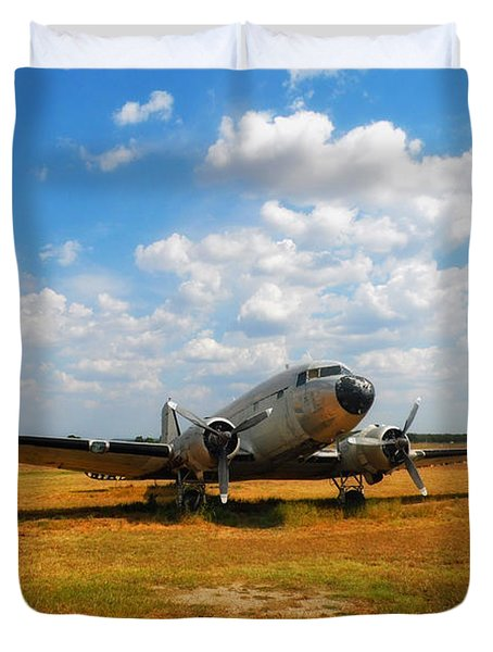 Put Out to Pasture Duvet Cover by Mountain Dreams